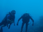 My buddy Carl and I diving in Bonaire